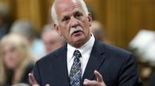 Public Safety Vic Toews speaks during Question Period in the House of Commons on June 4, 2012. (Adrian Wyld/The Canadian Press)