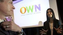 Oprah Winfrey Network representative Lisa Ling with Doug Murphy, executive vice-president and president of Corus Television (Deborah Baic)