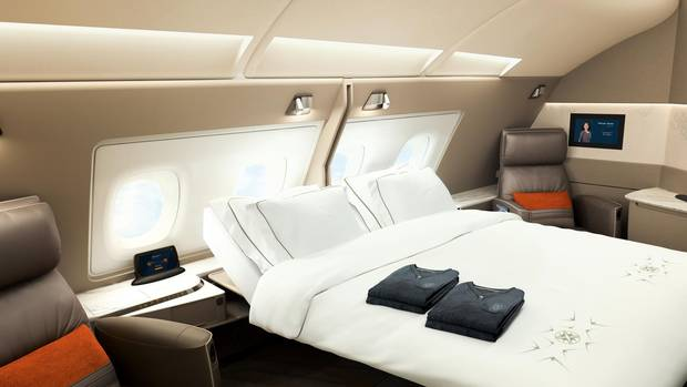 Singapore Airlines is adding six privacy suites to each of its new and existing Airbus A380 aircraft.