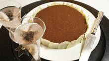 Triple chocolate torte (Peter Power / The Globe and Mail)