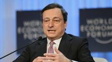 President of the European Central Bank Mario Draghi . (Michel Euler/Michel Euler/AP)