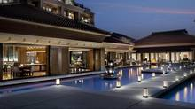 The Ritz-Carlton Okinawa aims to be an elegant, modern spin on the castles and royal residences of the Ryukyu Kingdom.