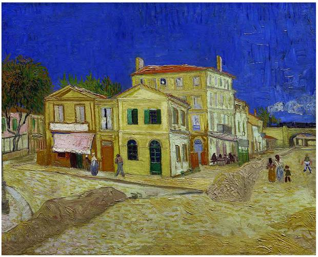 The Yellow House (The Street), an oil-on-canvas work from October, 1888.