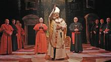 The Last Confession delves into the most highly guarded institution in the world to explore the mystery shrouding the sudden death of Pope John Paul I in 1978. (John Haines/Mirvish Productions)