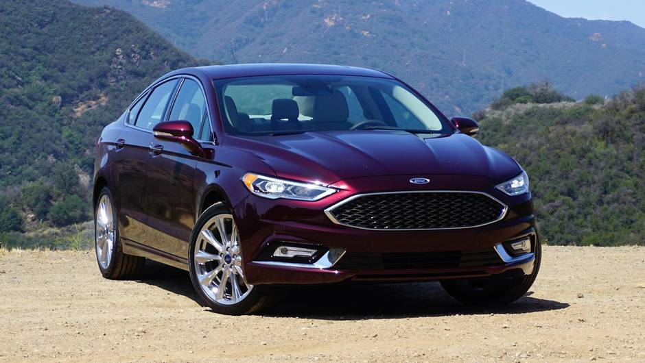 Review 2017 Ford Fusion Is The Quiet Giant Among Sedans