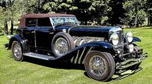 1933 Dusenberg best domestic at 2011 Concours d'elegance of America (Len Katz Photography)