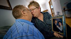 Dave's diagnosis came as a shock to Susan: 'I thought I was going to die,' she says.