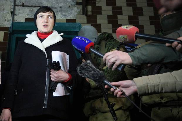 Nadiya Savchenko no longer dismisses suggestions that she could be president of Ukraine one day.