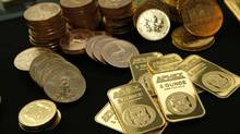 Gold bullion and coins from the American Precious Metals Exchange (MIKE SEGAR/REUTERS)