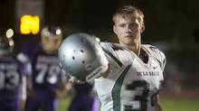 When the Game Stands Tall, starring Alexander Ludwig, is adapted from the book of the same name by Neil Hayes. (Tracy Bennett)