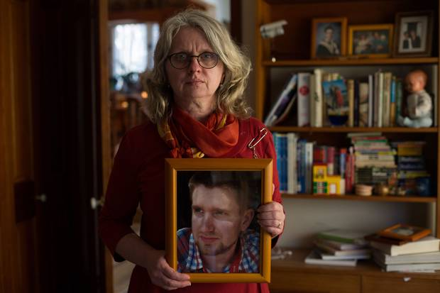 Petra Schulz found her 25-year-old son Danny Schulz after he died from a fentanyl overdose in Edmonton on April 30, 2014.