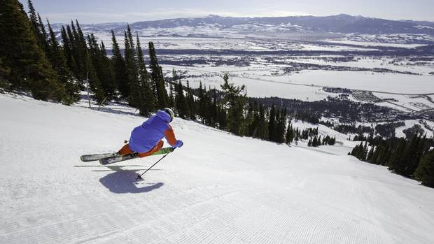 Jackson Hole Mountain Resort is renowned for its expert-only runs.