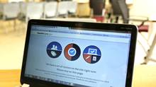 CGI was a key contractor on the error-laden rollout of the Obamacare website, but analysts are focused more on the tech company's European prospects. (JOE SKIPPER/REUTERS)