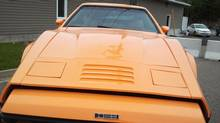 The Bricklin's body was made from chopper-gun fiberglass at a factory in Minto, N.B. (Ian Greig)