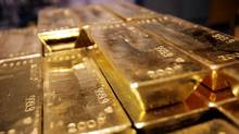 Gold bars (SEBASTIAN DERUNGS/AFP/Getty Images)