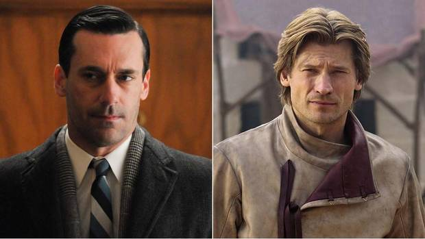 Don Draper is Jaime Lannister. Damaged – check; devilishly handsome – obviously; harbouring a secret that could cause their respective realities to implode at any moment – most definitely. The Mad Men audience learns the truth about Don Draper's true identity early on, so the tension becomes, when will everyone else find out? Similarly, Jaime's affair with his twin sister the Queen came out in the series premiere, so again, we get to sit back and watch him squirm. Both men are prime examples of cable TV's current darling – the anti-hero. Don is known for his cutthroat approach to advertising, while Jaime is known for cutting throats, including that of a previous monarch, which earned him his nickname, the Kingslayer. Common signature: simmering self-loathing. (Photo montage by The Globe and Mail/AP/Handout)