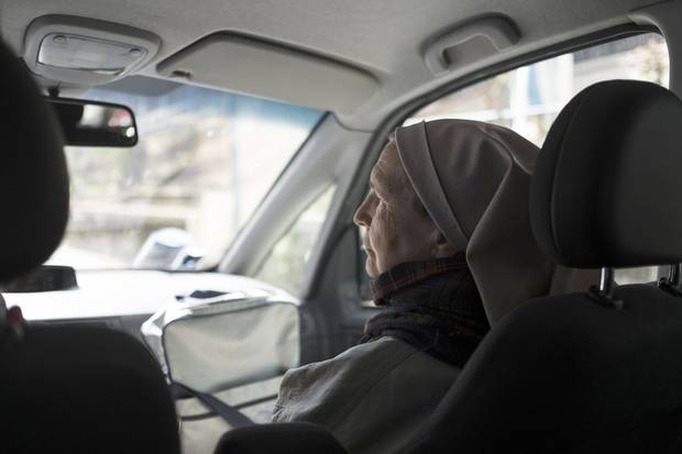 Sister Valeria Gandini makes her rounds to visit women forced into sexual slavery.