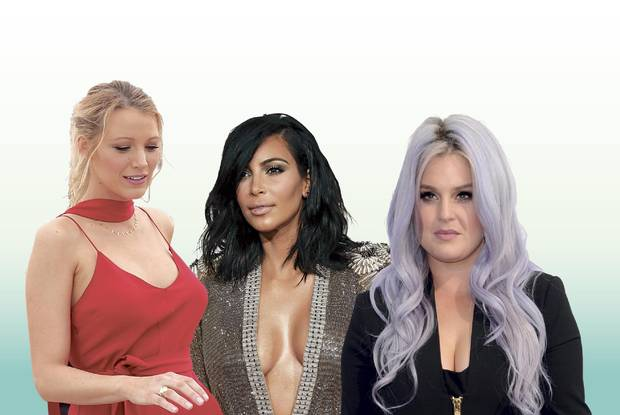 Blake Lively, Kim Kardashian and Kelly Osbourne are three celebrities who have opted to join the sobriety club.