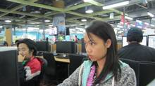 A Telus call centre in a Manila (Andy Hoffman/The Globe and Mail)