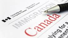 Visa Appication form from Citizenship and Immigration Canada (iStockPhoto / Getty)