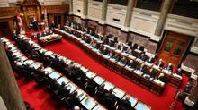2008 file photo of a session of the Legislative Assembly of British Columbia. (JONATHAN HAYWARD)