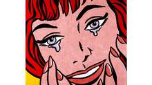 """Happy Tears"" by Roy Lichtenstein"