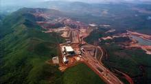 The Brucutu iron ore mine in Goncalo do Rio Abaixo, Brazil, is shown in a file photo. (HO/REUTERS)