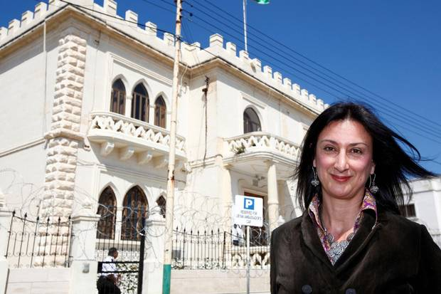 Maltese journalist Daphne Caruana Galizia, shown in 2011.