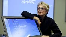 Smart Technologies said Monday that co-founders David Martin and Nancy Knowlton, pictured, have resigned from the company's board of directors. (Chris Bolin For The Globe and Mail)