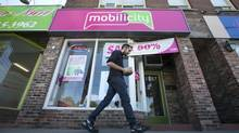 Mobilicity is currently evaluating bids as part of a court-supervised sales process. (Kevin Van Paassen/The Globe and Mail)