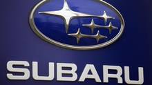 Subaru is recalling more than 660,000 cars and SUVs, 105,649 in Canada, because the brake lines can rust and leak fluid, and that can cause longer stopping distances. For about half the vehicles, it's the second recall for the same problem. (RICK BOWMER/THE ASSOCIATED PRESS)