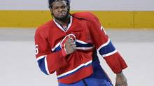 Montreal Canadiens defenceman P.K. Subban. (Eric Bolte/USA Today Sports)