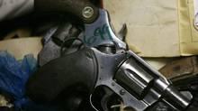 Handgun. (Ricardo Arduengo/The Canadian Press)