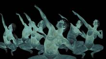 "A scene from ""ORA,"" an NFB film that uses 3D thermal imaging (National Film Board of Canada)"