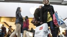 While customer response to Black Friday discounting in Canadian stores appeared uneven, online demand was relatively strong as a growing array of merchants offered wider e-commerce promotions than in the past. (CHRIS YOUNG/THE CANADIAN PRESS)