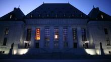 Supreme Court of Canada in Ottawa (Dave Chan For The Globe and Mail)