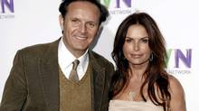 "Mark Burnett and his wife Roma Downey are producing the 10-part docudrama ""The Bible"" for the History channel. (Matt Sayles/AP)"