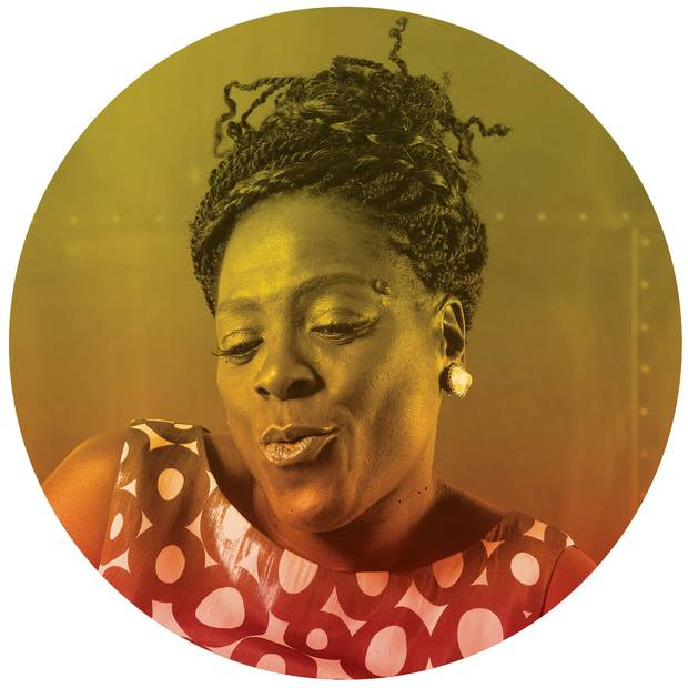 Sharon Jones of Sharon Jones and the Dap-Kings