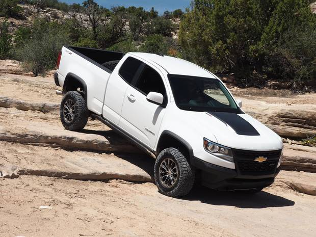 Flex was virtually undetectable as the Colorado tiptoed down the rocks.