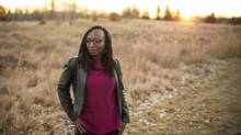 Necole Hines struggles to get ahead in Calgary while working full-time and raising three teenage boys. (Chris Bolin for The Globe and Mail)