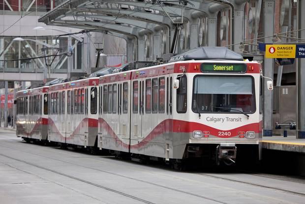 Calgary's C-Train's Light Rail System