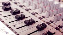 Audio Mixing Board (Stephanie DeLay/Getty Images/iStockphoto)