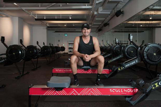 Ad executive Joseph Bonnici is a regular visitor to Scullhouse, whose classes blend rowing with weight-bearing exercises including yoga. 'It's replaced all of my fitness,' he says.