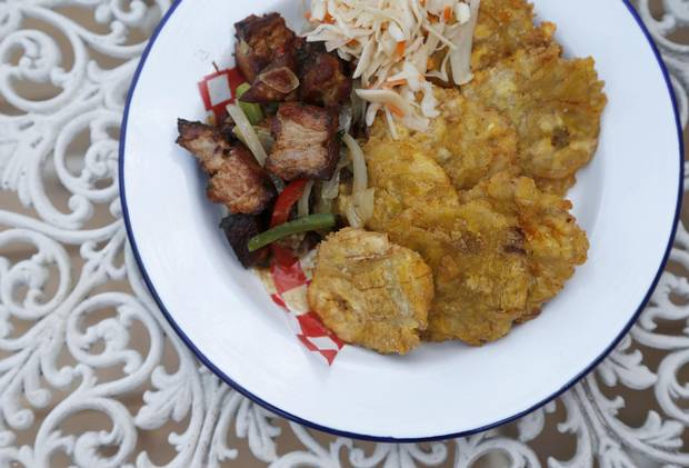 Agrikol's griot, which is traditionally served dry and chewy, gets an update here, with the pork pieces rendered meltingly tender inside crisp, caramelized-meat shells.