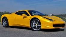 2011 Ferrari 458 Italia (Michael Bettencourt for The Globe and Mail)