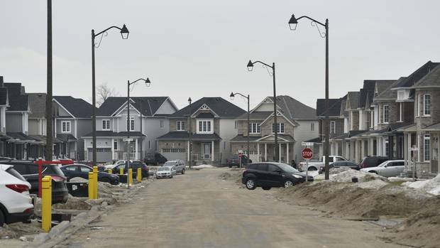 Five new subdivisions have popped up in Shelburne since 2003.