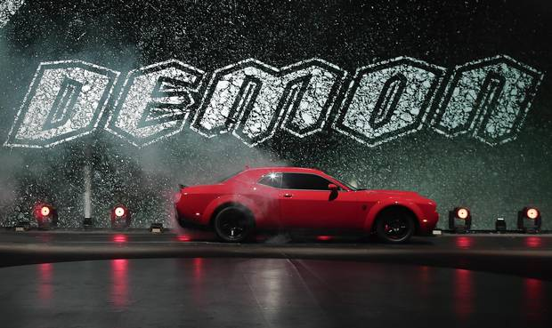 The 2018 Dodge Challenger SRT Demon.