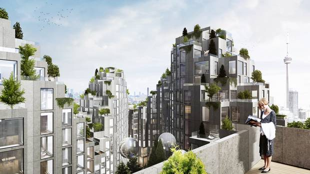 a ziggurat for king west take a peek at bjarke ingels s plan for