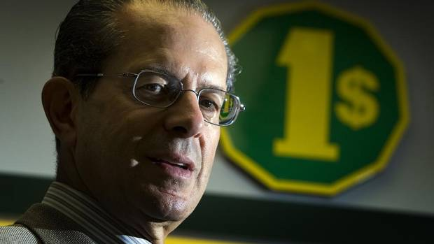 10. Larry Rossy, Dollarama Inc., $370-million (CHRISTINNE MUSCHI/THE GLOBE AND MAIL)