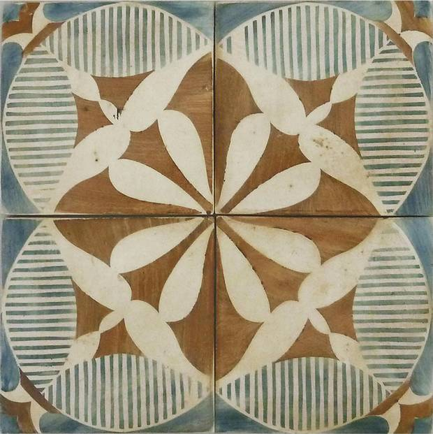 Touareg tile, price on request at Tabarka Studio (www.tabarkastudio.com).